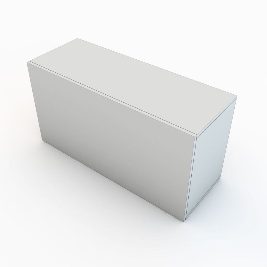 Wooden Crate 04 royalty-free 3d model - Preview no. 10