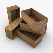 木箱04 3d model