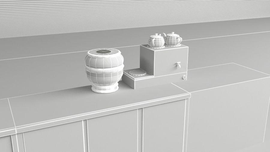 Kafé för kafé royalty-free 3d model - Preview no. 7
