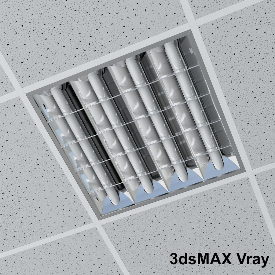 techo 3D7c4dmaxxsi Lámpara Modelo oficina de de CdxoBe