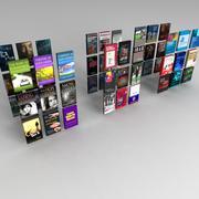 Set libri 01 3d model