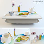 Conjunto de café da manhã 3d model