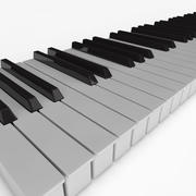 Piano Keys 3d model