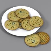 Frukt Shortcake Biscuit 3d model