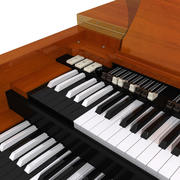 Hammond B3 Organ:Vintage Keyboard 3d model
