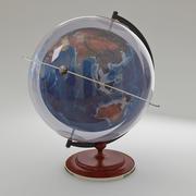 globo da terra 3d model