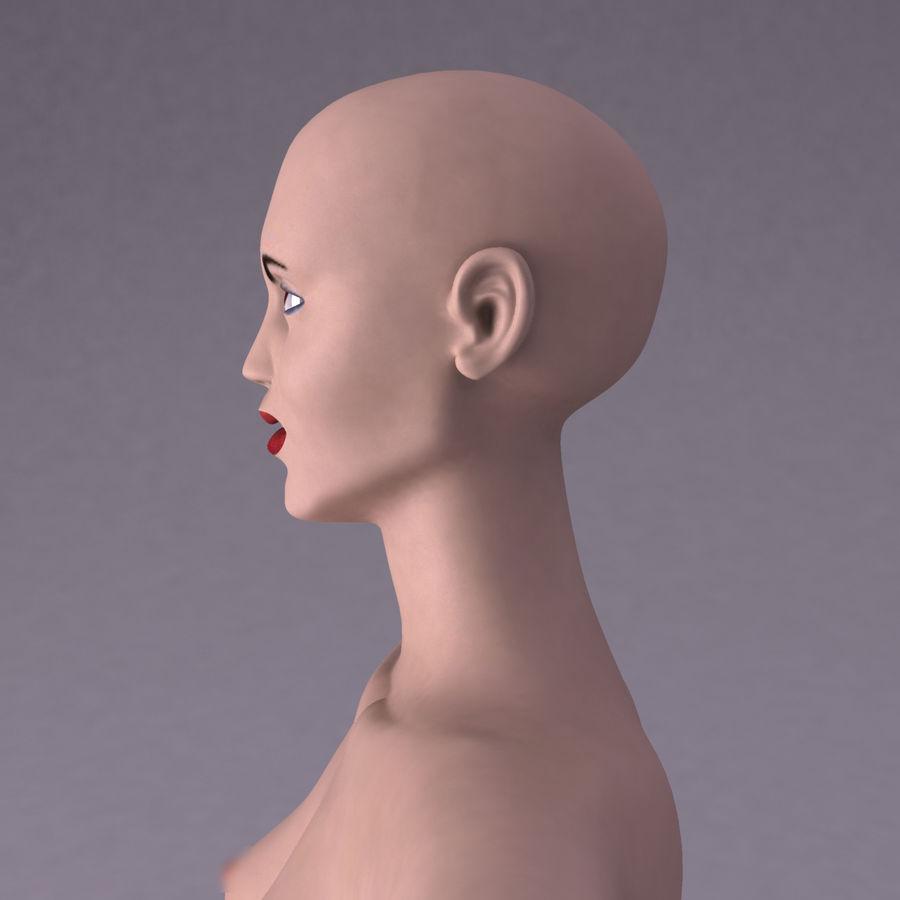 Женщина royalty-free 3d model - Preview no. 11