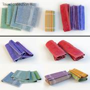 Colección de toallas III modelo 3d