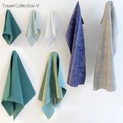 Коллекция полотенец 3d model
