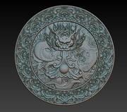 Alívio dragão chinês 3d model