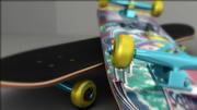 planche à roulette 3d model