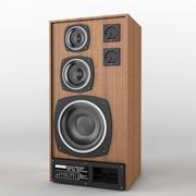 Luidsprekers Radiotehnika S90 3d model