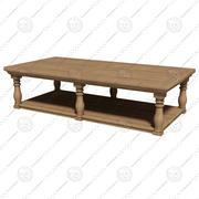 Eichholtz Table 커피 롬바르디아 3d model