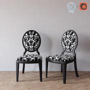 Tonin Casa Glamour 1195 chair 3d model