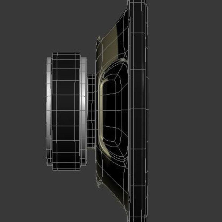 スピーカー royalty-free 3d model - Preview no. 7