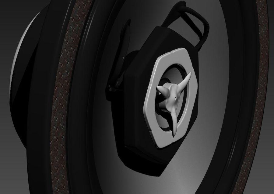 スピーカー royalty-free 3d model - Preview no. 5