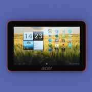 Tablet Acer A200 3d model