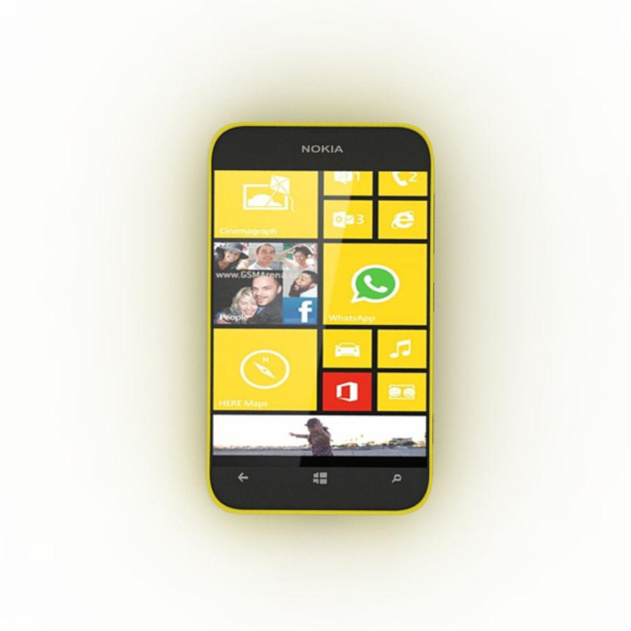 노키아 루미아 520 royalty-free 3d model - Preview no. 1