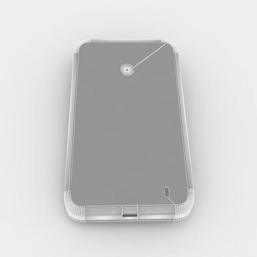 노키아 루미아 520 royalty-free 3d model - Preview no. 6