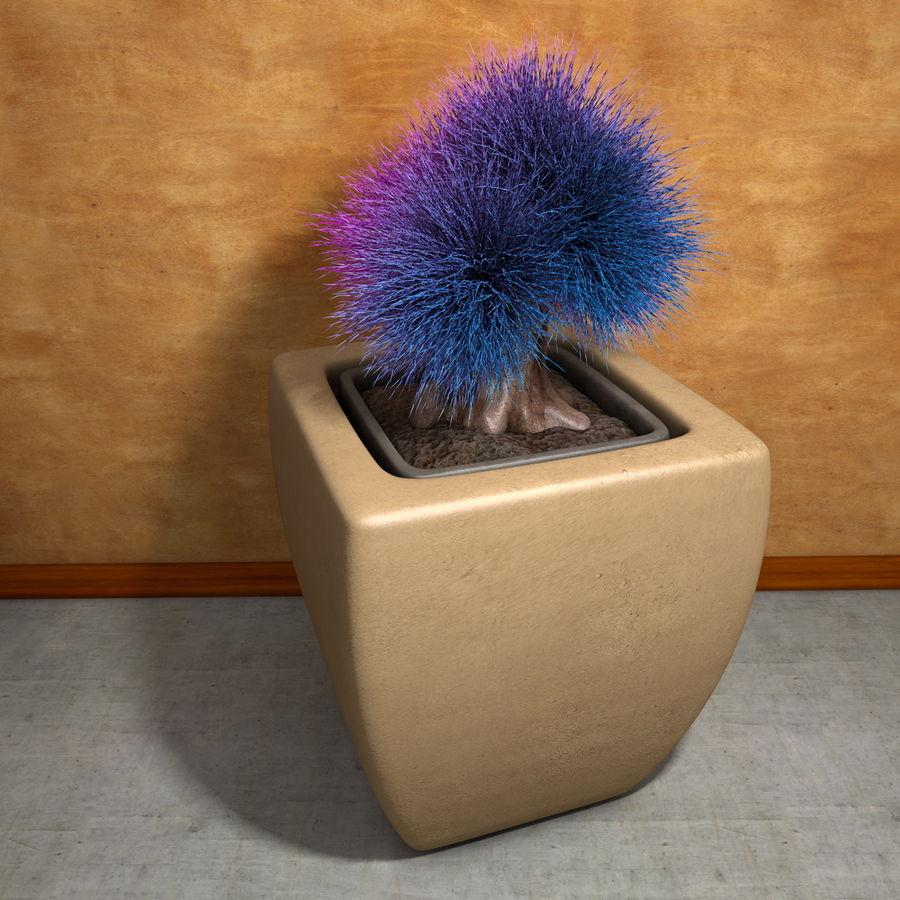 Flower Plant Pot Garden Potters royalty-free 3d model - Preview no. 4