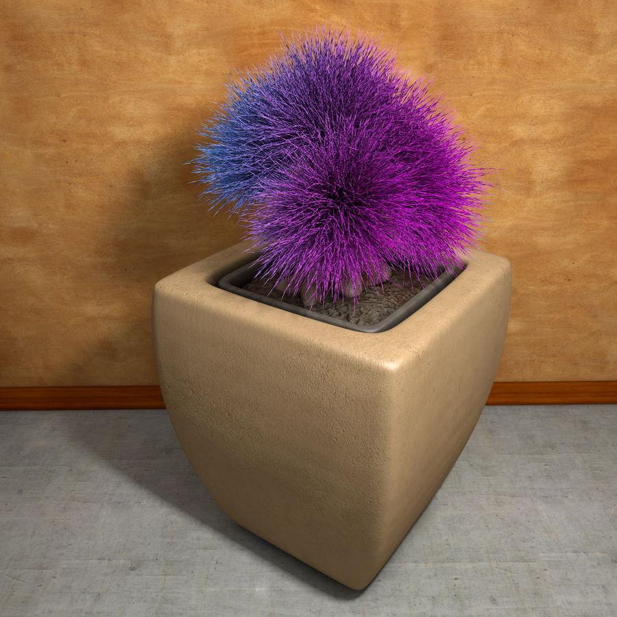 Flower Plant Pot Garden Potters royalty-free 3d model - Preview no. 10
