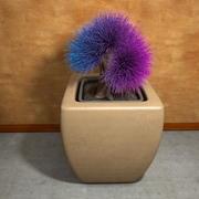 Potenciômetros da planta da flor 3d model