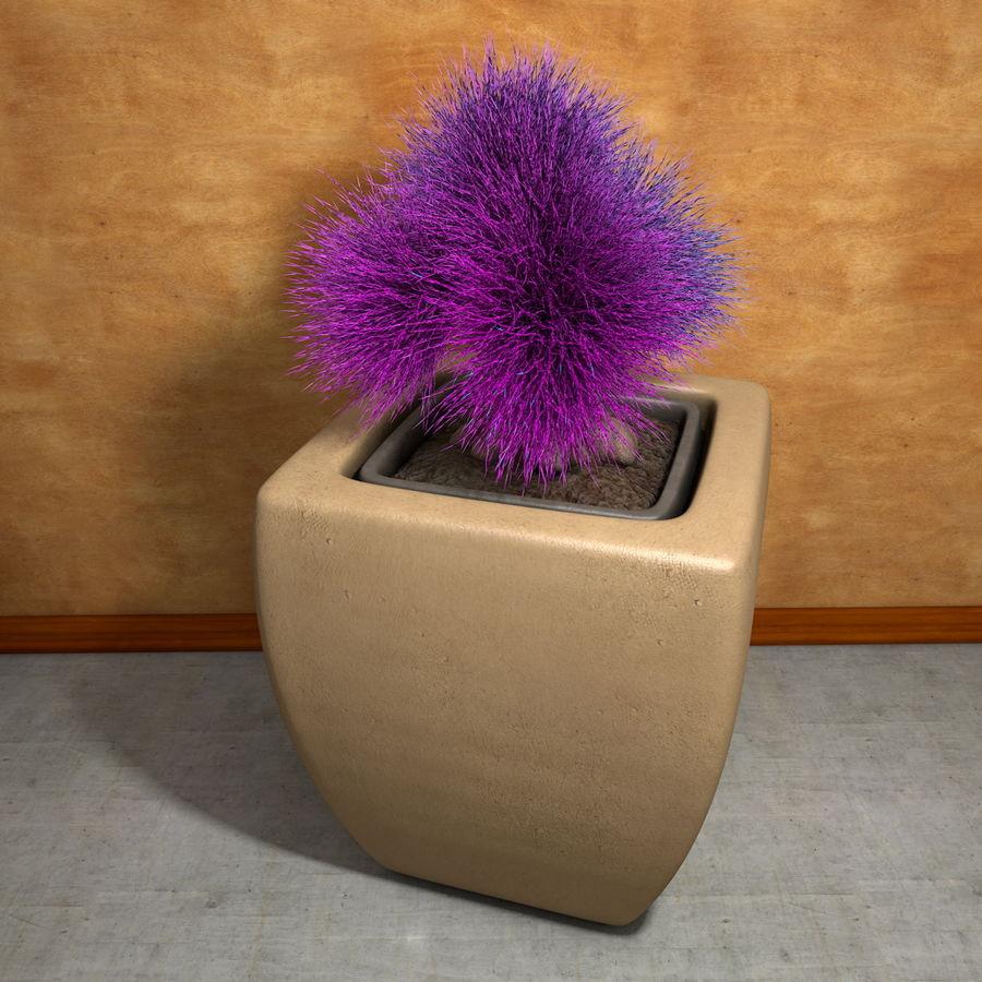 Flower Plant Pot Garden Potters royalty-free 3d model - Preview no. 8