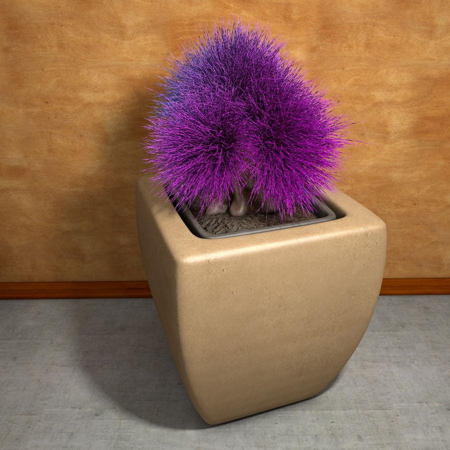 Flower Plant Pot Garden Potters royalty-free 3d model - Preview no. 9
