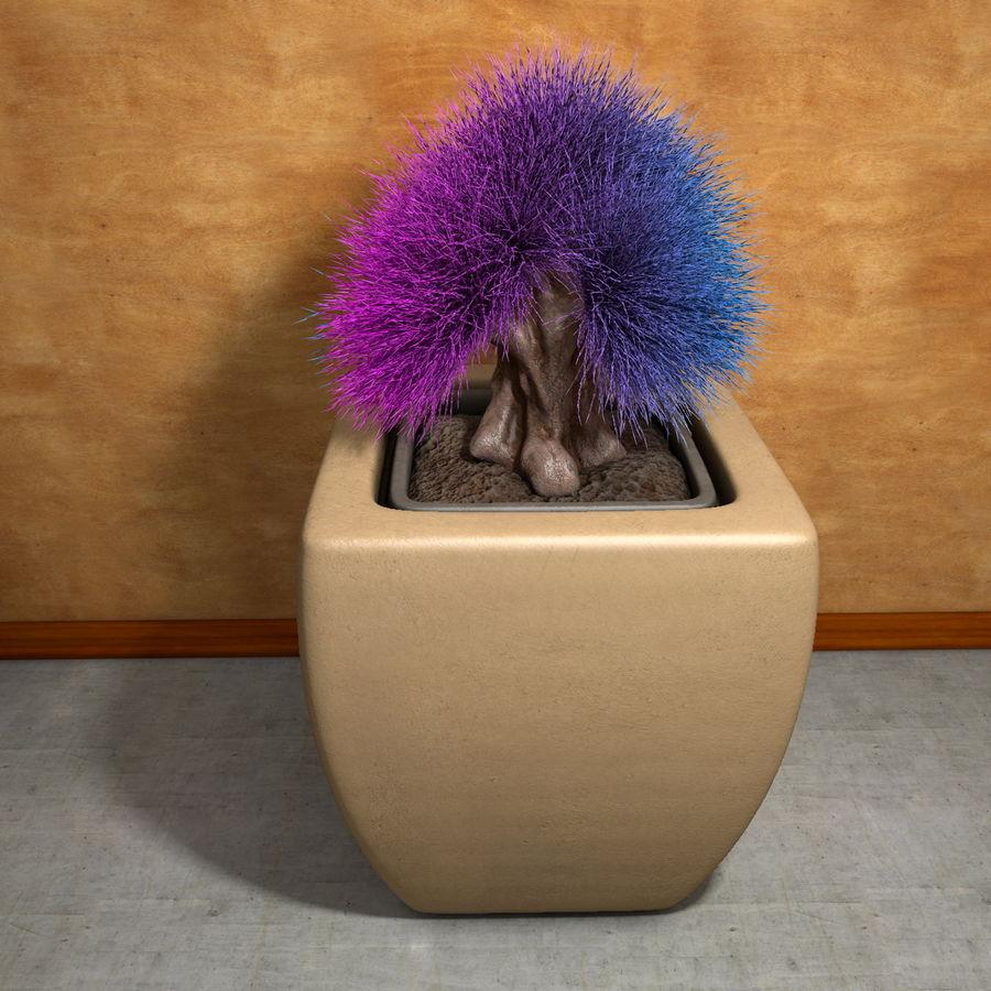 Flower Plant Pot Garden Potters royalty-free 3d model - Preview no. 6