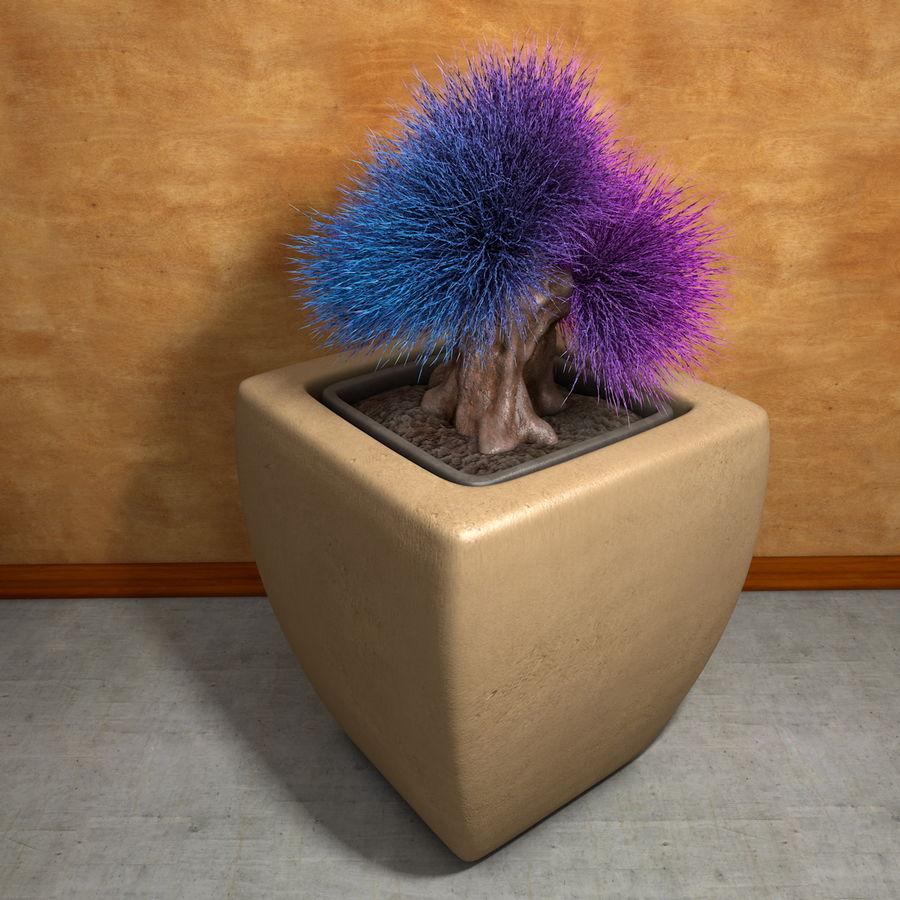 Flower Plant Pot Garden Potters royalty-free 3d model - Preview no. 2