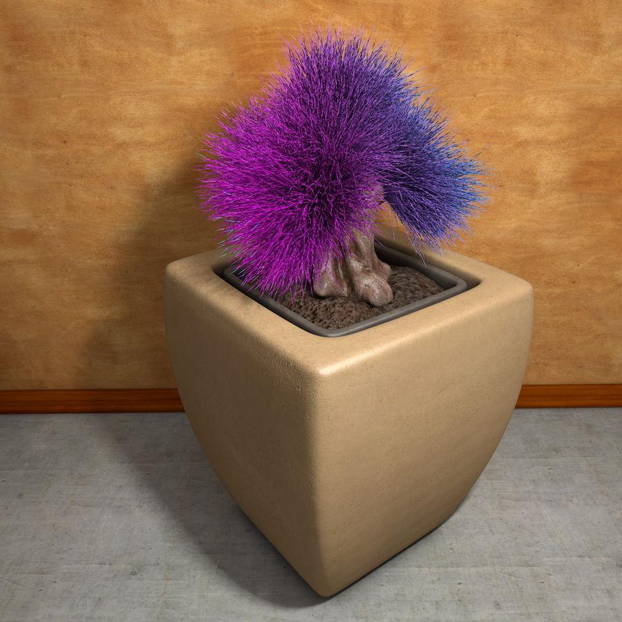Flower Plant Pot Garden Potters royalty-free 3d model - Preview no. 7