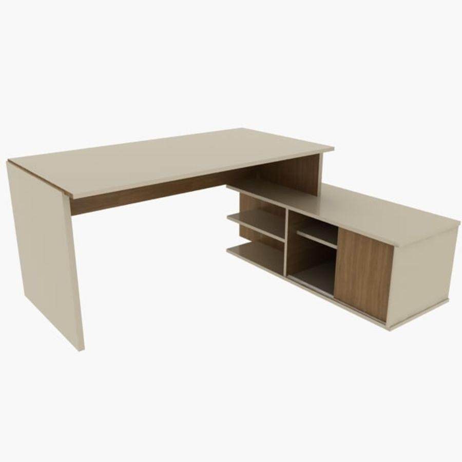 Design Desk royalty-free 3d model - Preview no. 1