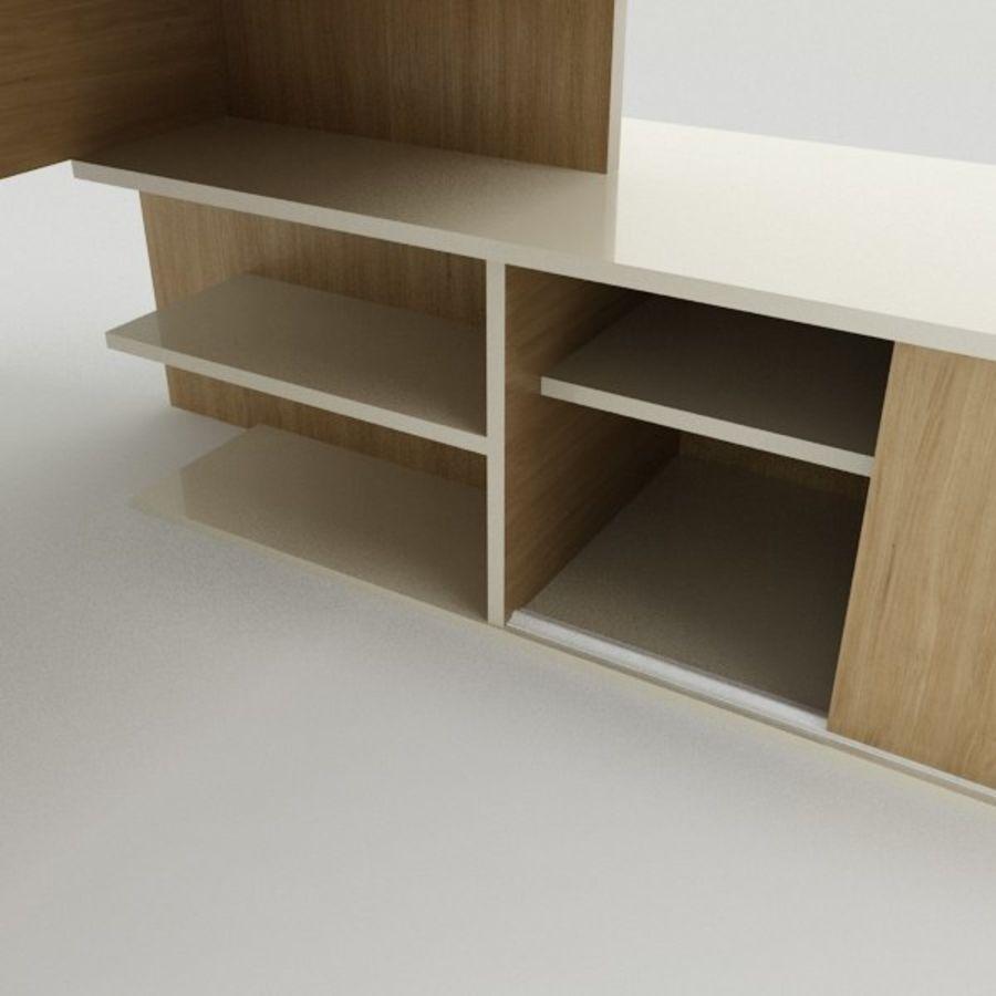 Design Desk royalty-free 3d model - Preview no. 4