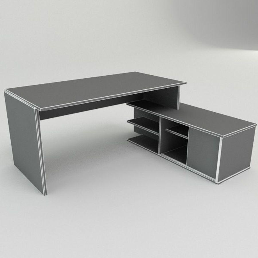 Design Desk royalty-free 3d model - Preview no. 3