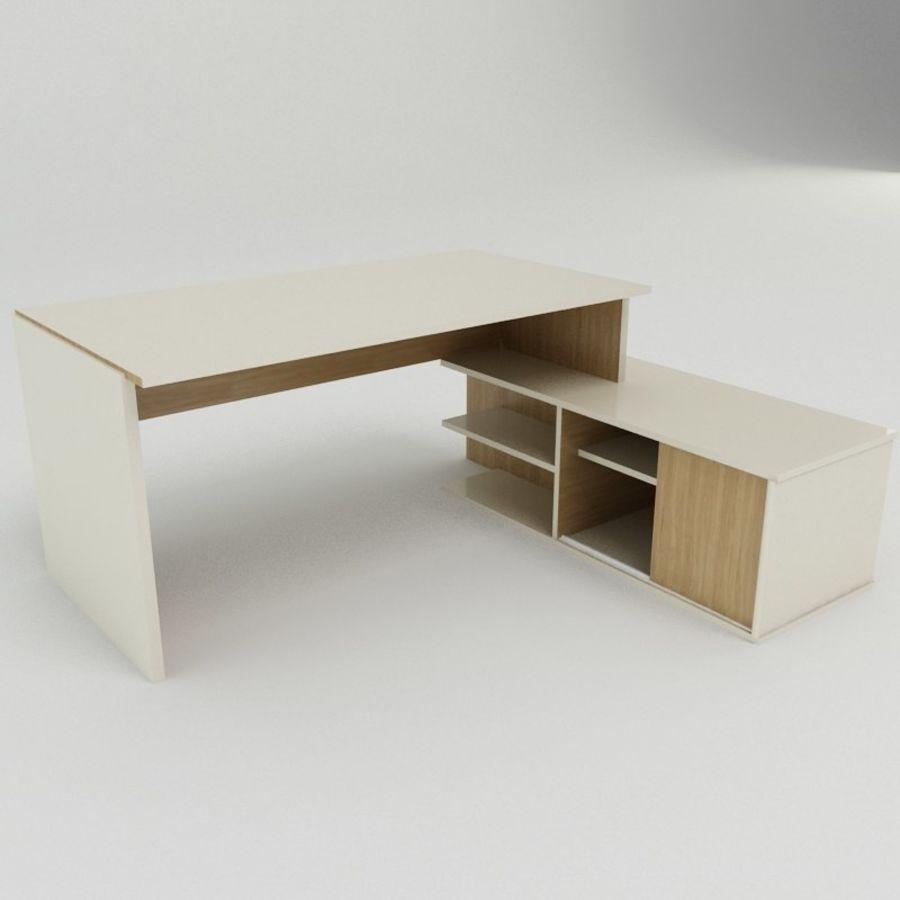 Design Desk royalty-free 3d model - Preview no. 2