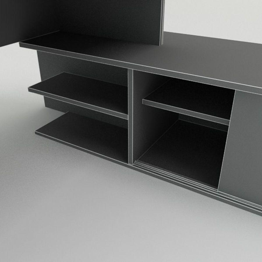 Design Desk royalty-free 3d model - Preview no. 5