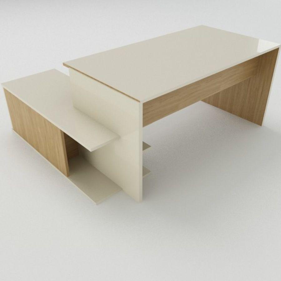 Design Desk royalty-free 3d model - Preview no. 7