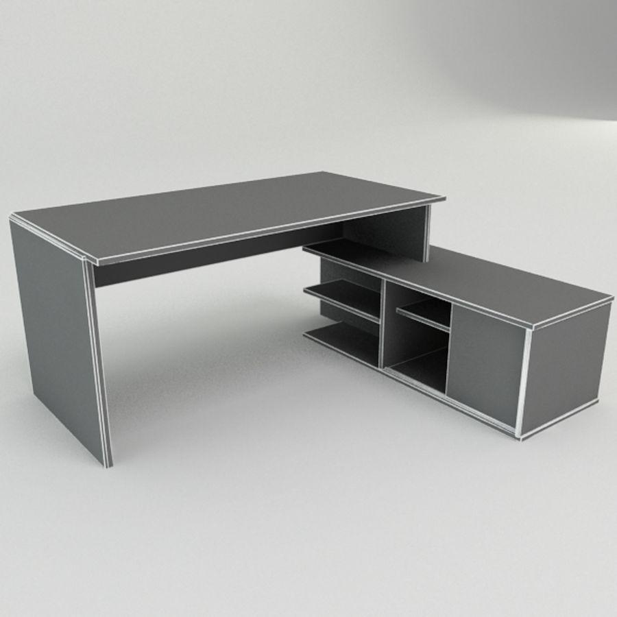 Дизайн стола royalty-free 3d model - Preview no. 3