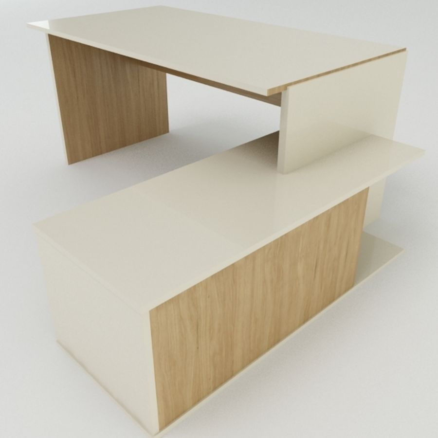 Дизайн стола royalty-free 3d model - Preview no. 9