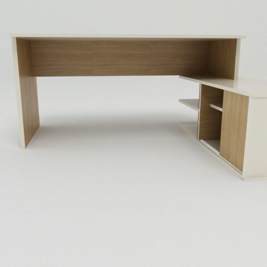 Design Desk royalty-free 3d model - Preview no. 6