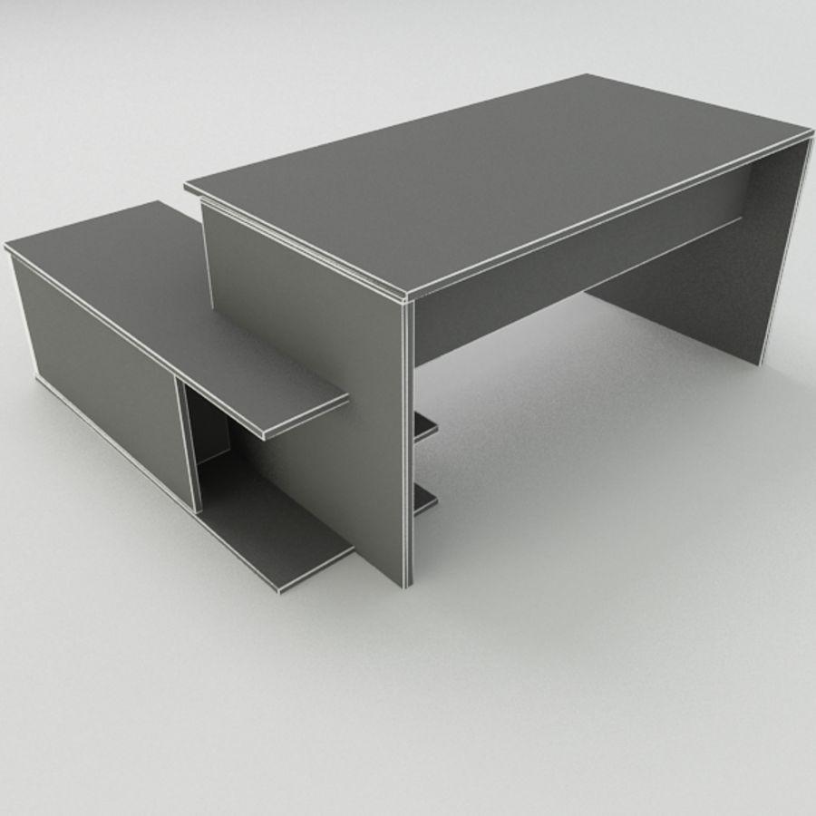 Дизайн стола royalty-free 3d model - Preview no. 8