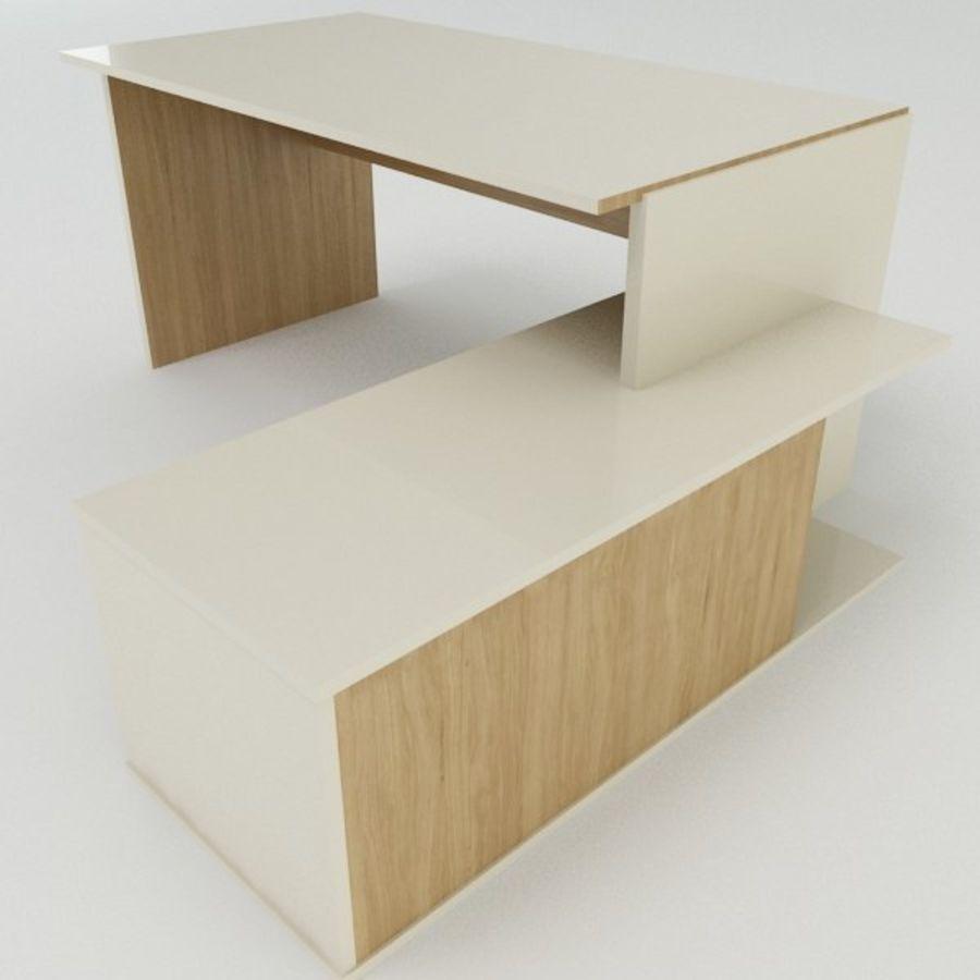 Design Desk royalty-free 3d model - Preview no. 9