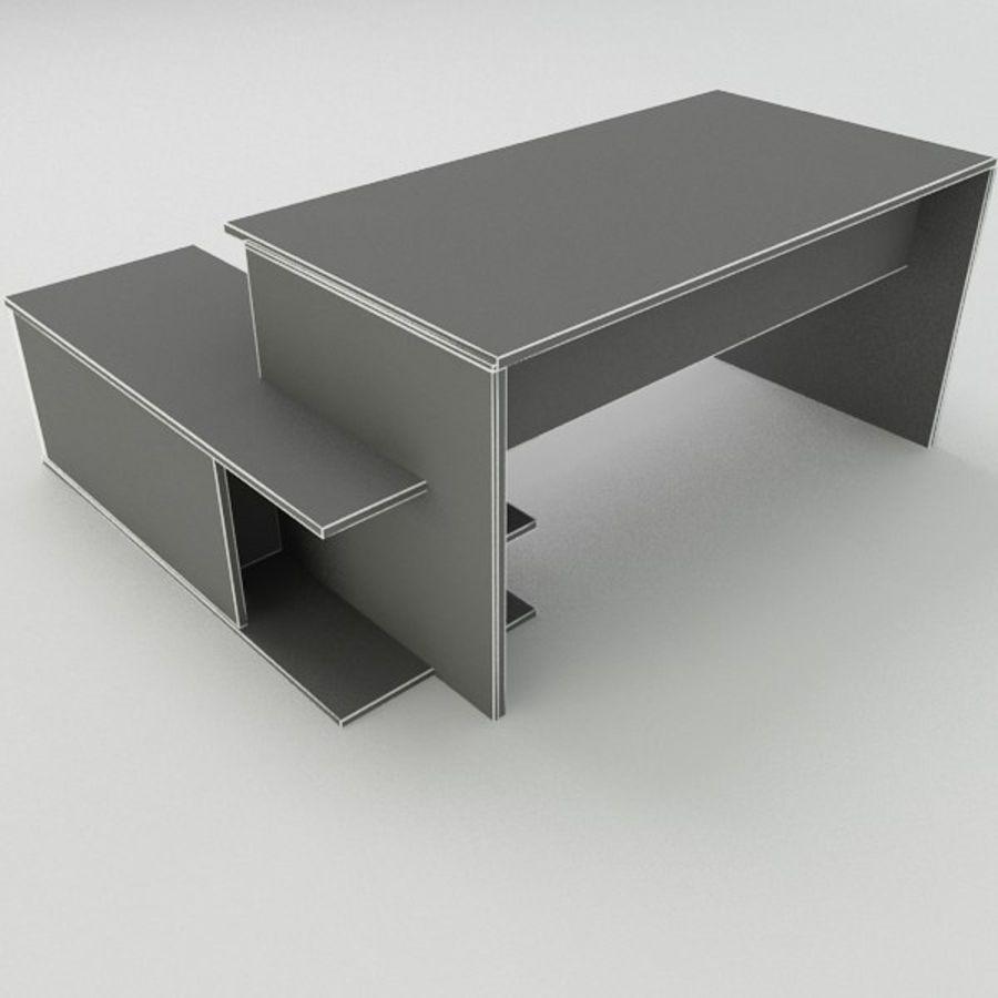 Design Desk royalty-free 3d model - Preview no. 8