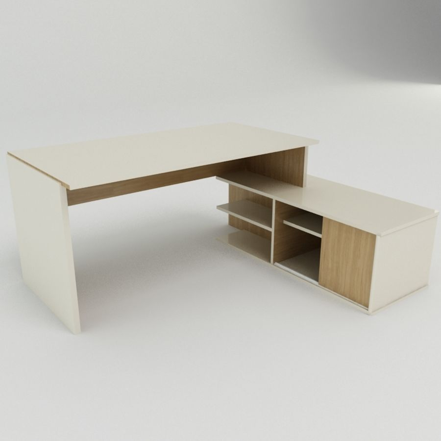 Дизайн стола royalty-free 3d model - Preview no. 2