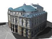Arriaga Theatre of Bilbao 3d model