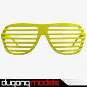 Солнцезащитные очки затвора 3d model