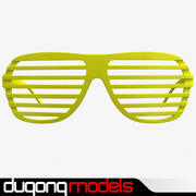 Shutter Shade Sunglasses 3d model