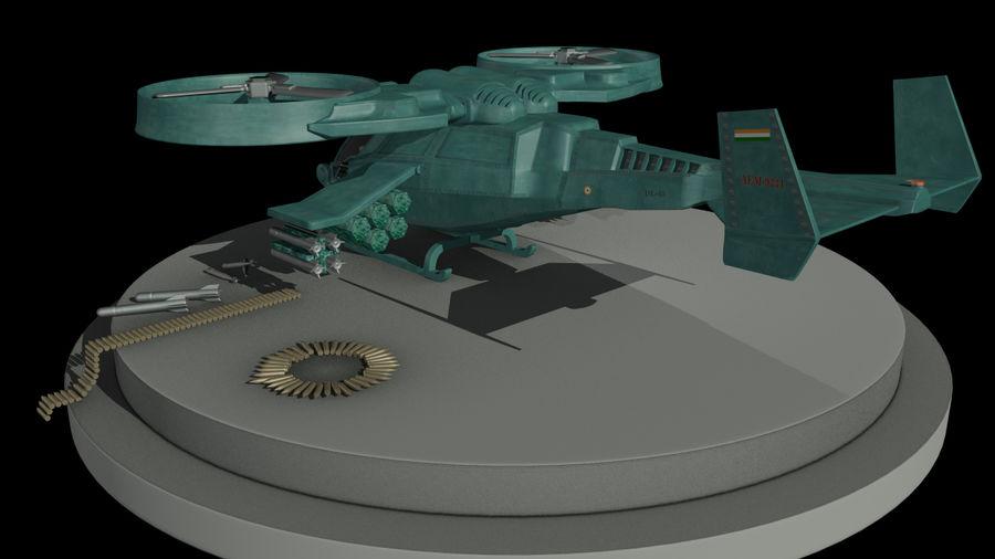 Avatar Gunship royalty-free 3d model - Preview no. 2