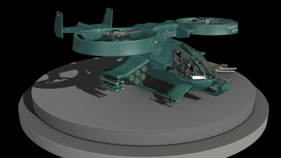 Avatar Gunship royalty-free 3d model - Preview no. 5