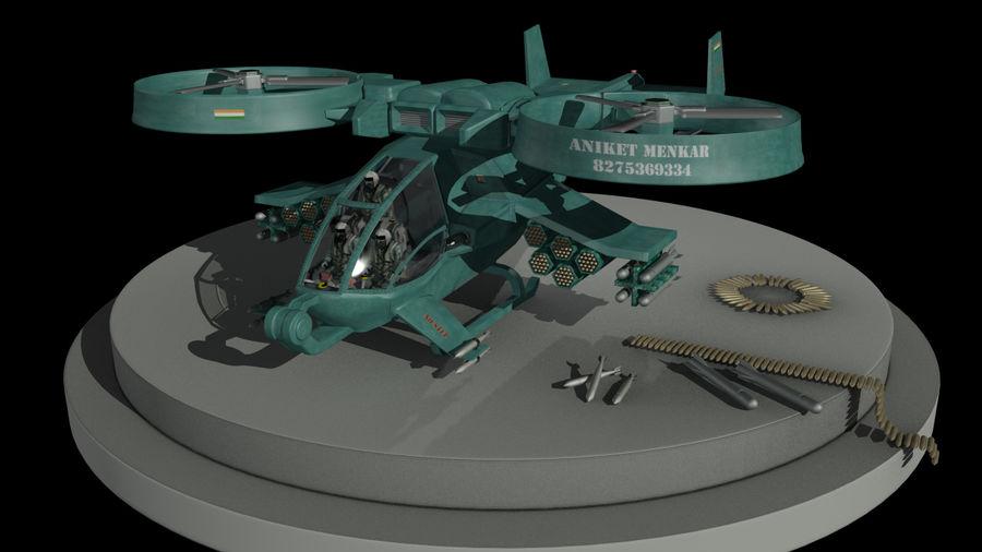 Avatar Gunship royalty-free 3d model - Preview no. 4